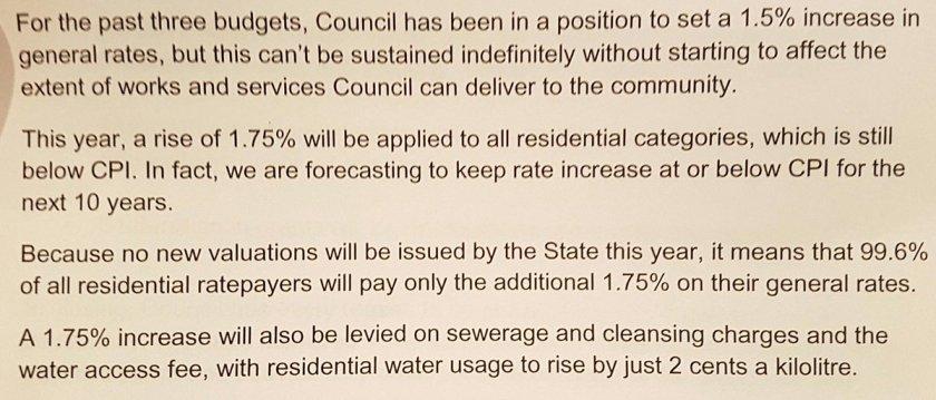 council budget