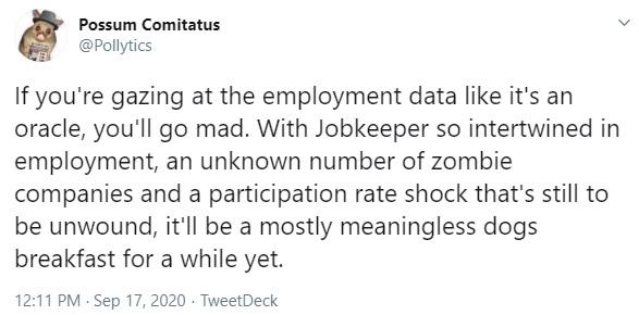 Jobseeker August 1